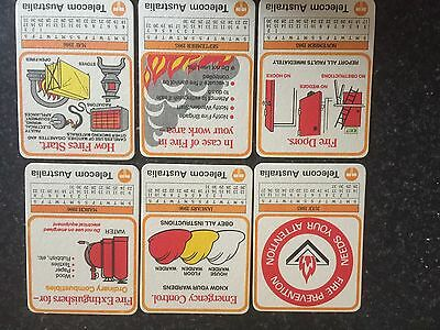 Vintage Telecom Bar Coasters From 1985/86