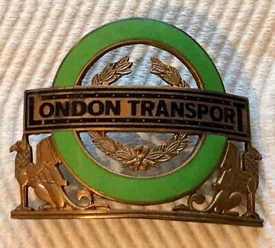 London Transport Country Chief Inspectors Badge