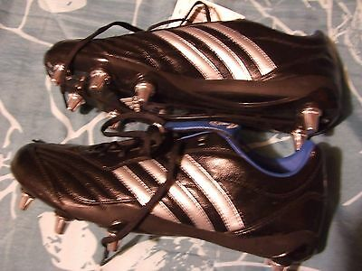 Adidas Regulate LV SG Size 12 Rugby Cleats NEW