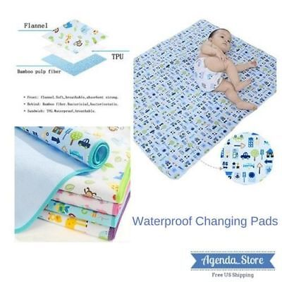 Infant Baby Waterproof Portable Travel Changing Pads Mattress Pad Crib Bassinet