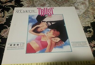 Sex, Love, TV & Trust Laserdisc laser disc