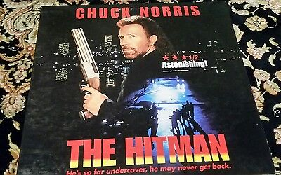 The Hitman Laserdisc laser disc