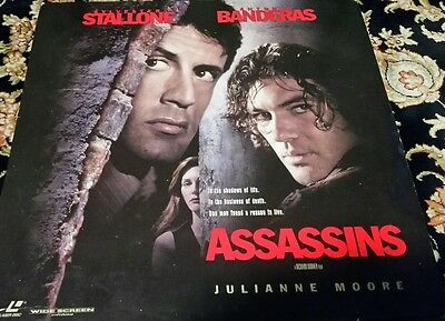 Assassins Laserdisc laser disc