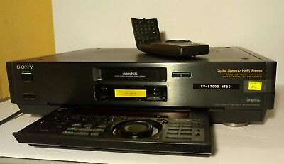 Sony EV-S7000 Hi8 8mm Video Editor VCR -EXCELLENT CONDITION