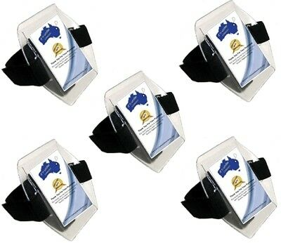 ArmBand ID Holders 5 x - Fast Dispatch