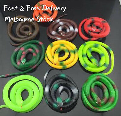 Rubber Snakes Realistic Trick Toy Small Snakes Simulation Snake Whimsy Rubber