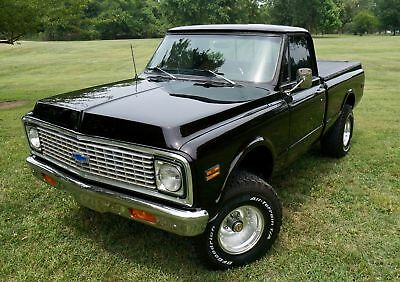 1972 Chevrolet C-10 4X4 RESTORED K10 4X4 STUNNING PAINT COLD VINTAGE AIR PS PB LIFTED WOW MAKE OFFER