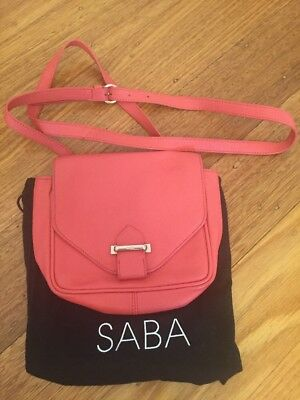 Saba Hand Bag Clutch Leather