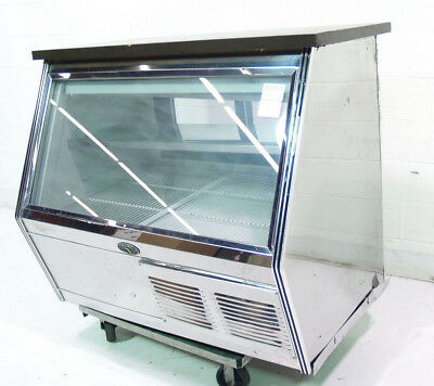"Used Marc Refrigeration FIC-4 S/C 50"" Refrigerated Deli Merchandiser"