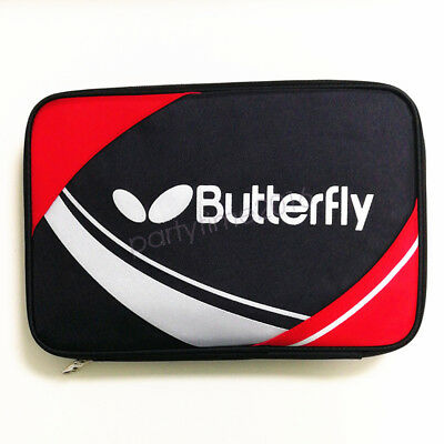 Butterfly Table Tennis Ping Pong Paddle Case Bag RED Manufacturer Direct Sale
