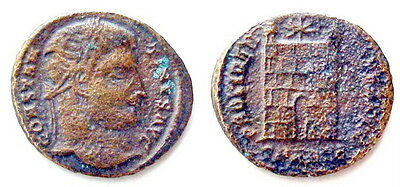 Constantine I Roman Imperial Ancient Authentic Original coin AE Follis #R489-498