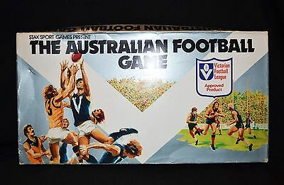 The Australian Football Board Game VFL Approved Product 1979