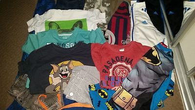 Boys clothes size 7, x18 items. Including Adidas & Pumpkin Patch