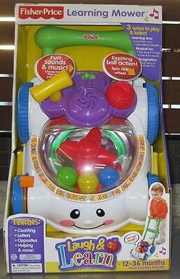 Fisher Price Laugh & Learn Learning Mower  *brand New* Dated 2006
