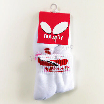 Butterfly Table Tennis Ping Pong Specialist Sports Socks Men Women Short Socks