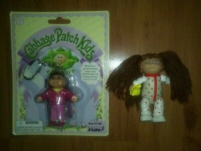 Vintage Cabbage Patch Kids Doll & Toy Keyring