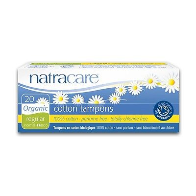 Tampons Normal - Natracare - 20 Piece