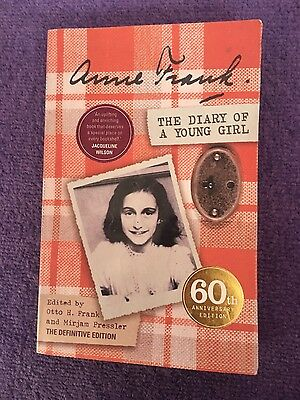 The Diary of a Young Girl: The Definitive Edition by Anne Frank (Paperback,...