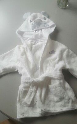 baby dressing gown 0-3