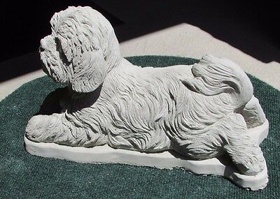 Large Concrete Shih Tzu Statue Or Use As A Monument