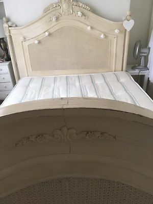 King Size Bed Frame Shabby Chic French Boudoir