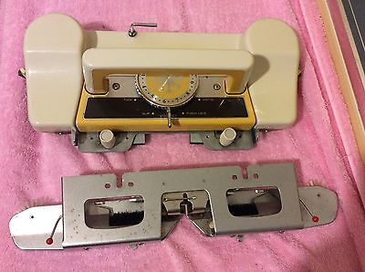 Singer Memo-Matic 321 knitting machine Parts Knitting Slide Carriage craft
