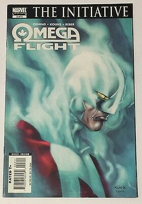 Omega Flight #3 (August 2007, Marvel Comics) VG Condition