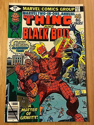 Marvel Comics: King Size Annual Marvel Two-in-One The Thing and Black Bolt #4 VF