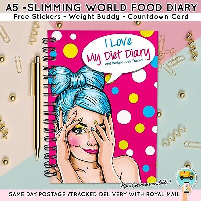 Food Planner Compatible with Slimming World Food Journal Planner Log UNICORN24
