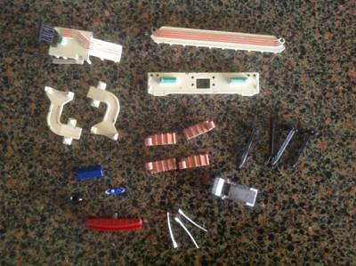 Tri-Ang Minic Ships Variety Of Harbour Accessories Incl Lifeboat Shed & Boat