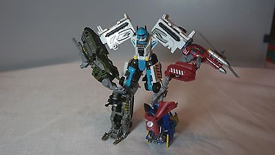 Stakeout with Protectobots - Transformers Power Core Combiners - Used - Hasbro