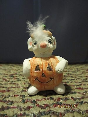 Dreamsicles Angel Cherub #da472 Mouse O Lantern Halloween