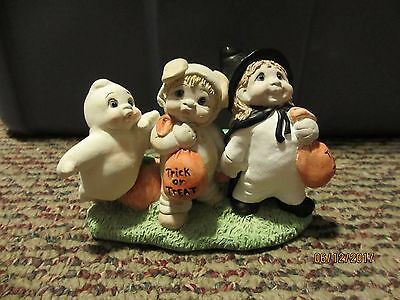 Dreamsicles Angel Cherub #da664 Three Musketeers Halloween Trick Or Treat