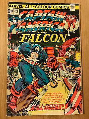 Marvel Comics: Captain America and The Falcon #196 – Good Apr 1976  Jack Kirby