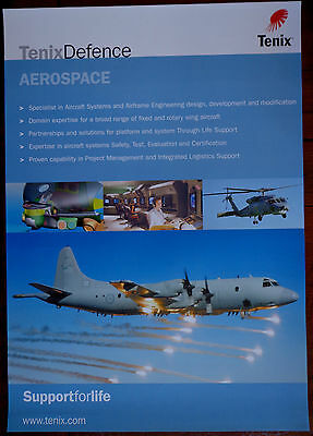 Tenix Defence Airforce Poster