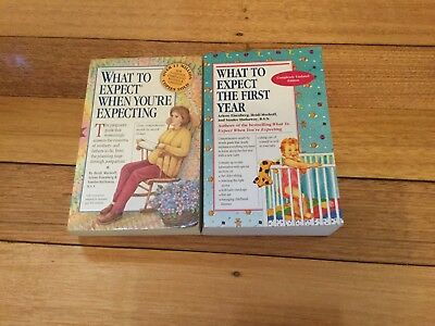 2 Books: What To Expecting When Your Expecting + First Year
