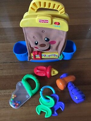 Fisher Price Laugh & Learn Musical/Talking Tool Bag