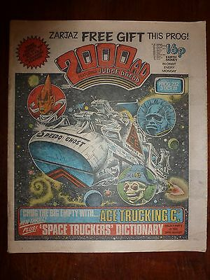 2000AD Prog 232 - 3rd Oct 1981 - 'Ace Trucking Co.' *New Thrill - 1st Appearance