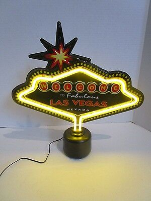 Welcome to Fabelous Las Vegas Light Up Table Top Sign