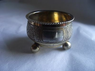 Antique Russia (Moscow) Silver Salt