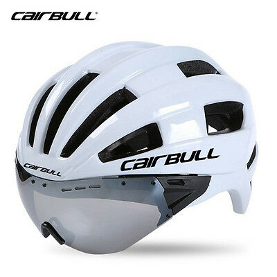 In-mold Adult Bicycle Helmets With Goggles Ultralight Lens Bike Helmets Sports
