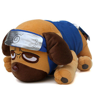 Anime Naruto Pakkun Dog 40CM Plush Toys Soft Stuffed Animals Kids doll Gift New