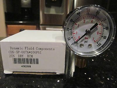 Low Pressure Replacement Gauge - Right Hand Thread