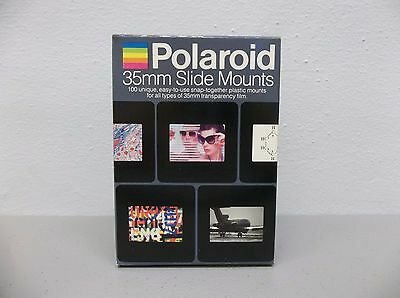 Polaroid 35mm Slide Mounts - 100 Count - New in Box