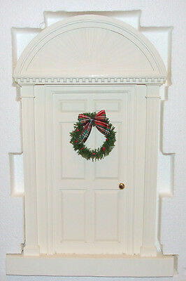 Byers Choice Caroler Colonial Door with Wreath