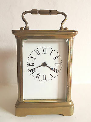 French Carriage Clock  -  For Repair  Or Restoration