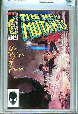 1)CBCS(LIKE CGC)-9.8-NEW MUTANTS #25(3/85)'1st APP. LEGION'(FX TV SHOW)X-MEN/HOT