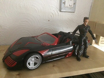 Marvel Toy Biz X-Men Car And Wolverine Figure 2003