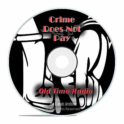 Crime Does Not Pay!, 728 Classic Old Time Radio Crime Drama Shows, OTR DVD G35