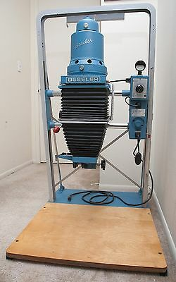 Beseler 45MCRX Condenser Enlarger, Blue, with Resistrol, Great Condition!